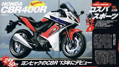 2012 Honda CBR400R
