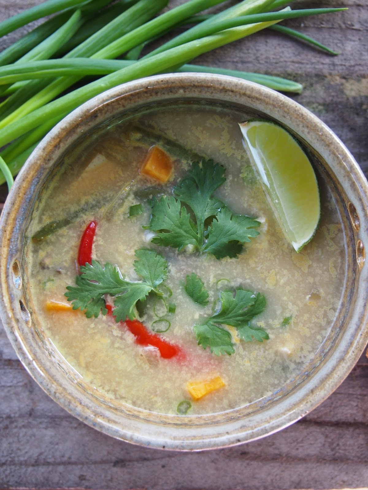 Thai Coconut Soup with Tofu