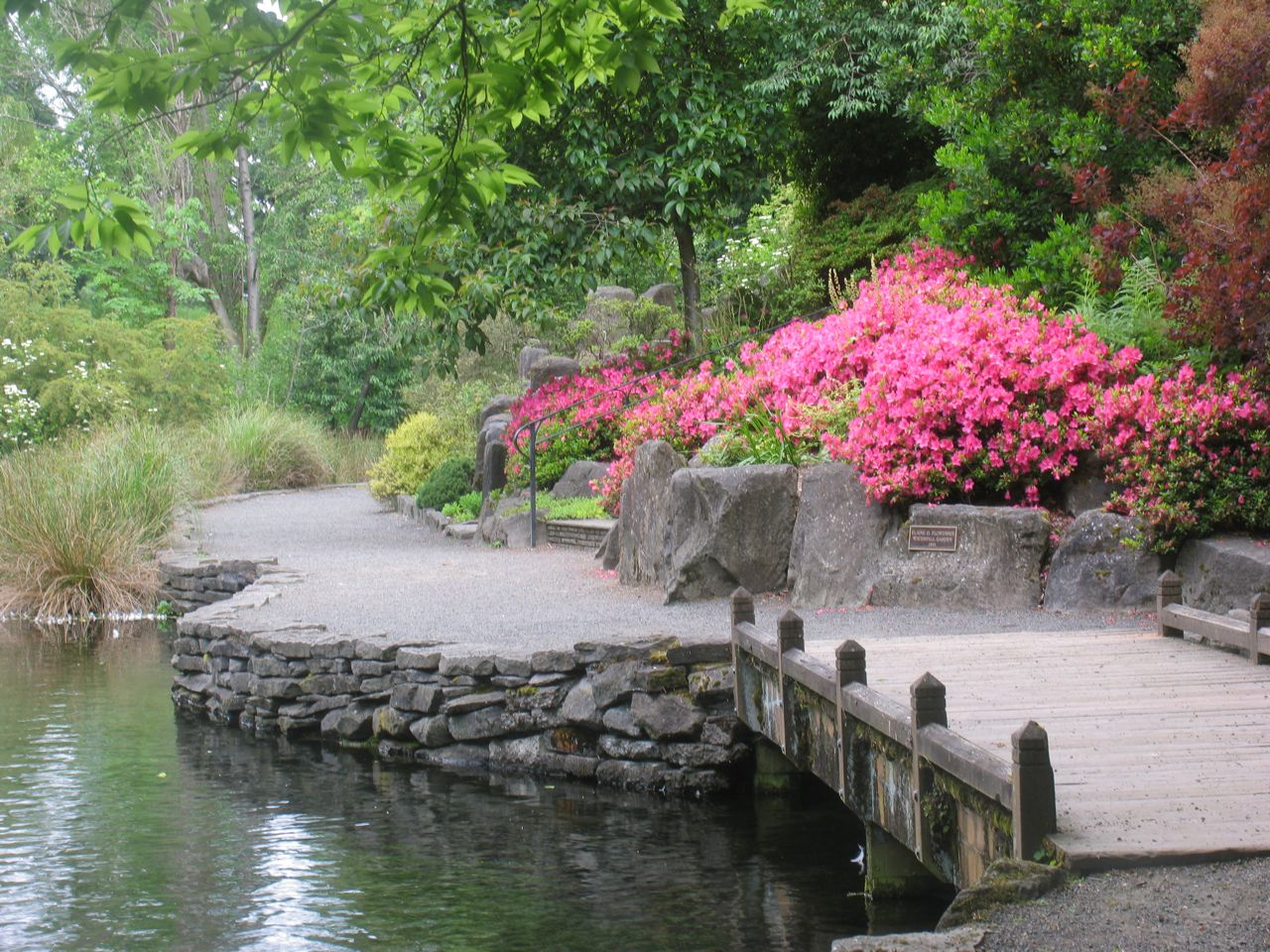 Peaceful Places in Portland Images from Crystal Springs