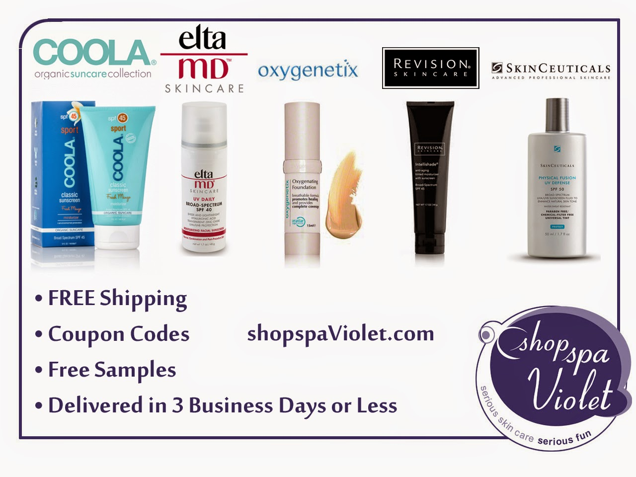 Quality Sunscreen with Coupon Codes