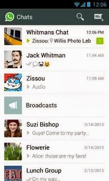 WhatsApp Messenger Android apk - Screenshoot