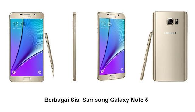Penampilan Samsung Galaxy Note 5