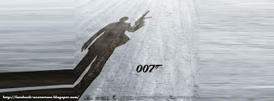 Couverture  pour facebook james bond