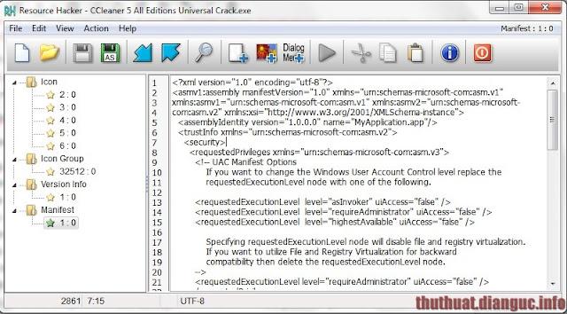 Download Resource Hacker 4.2.1 – Phần mềm chỉnh sửa file EXE, DLL