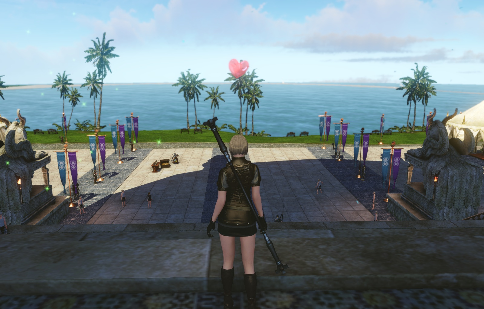 Archeage画像蜃気楼の島