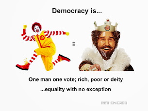 Democracy is...