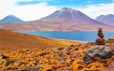 Laguna Minisques - Atacama - Chile
