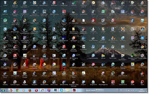 mon fond d'écran bing sur mon pc