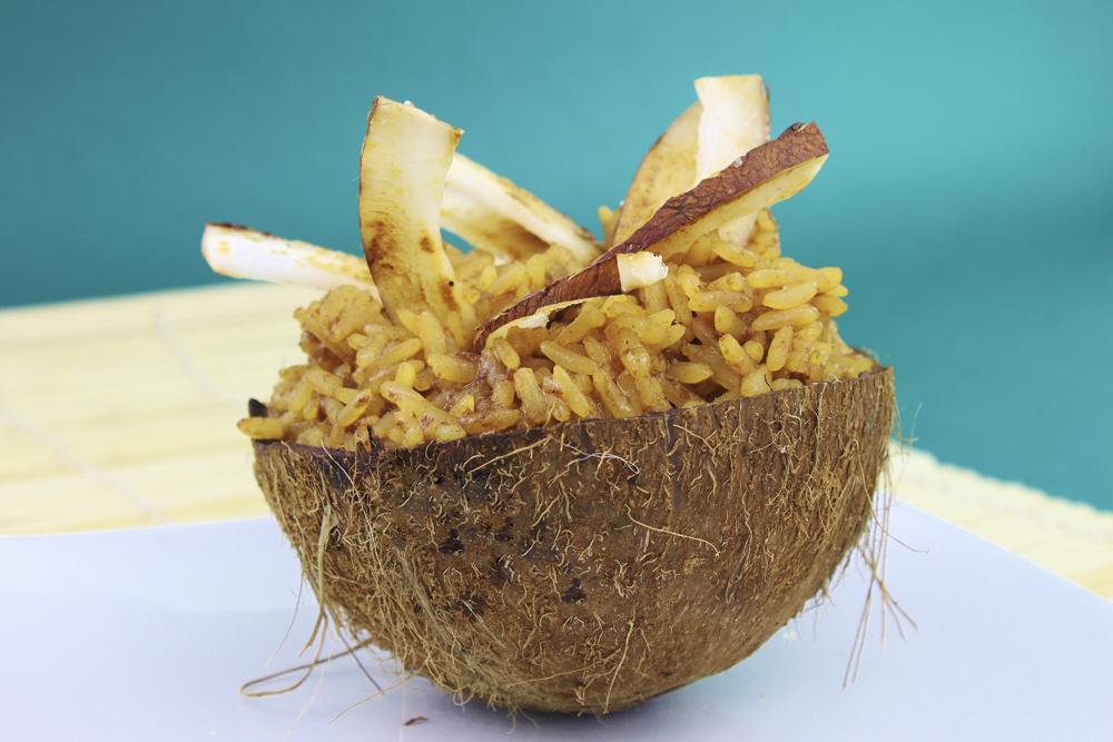 de arroz con leche venezolano: