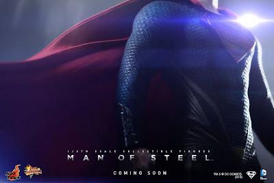 Hot Toys Man of Steel Superman Teaser Image