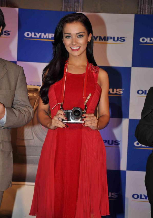 amy jackson launch olympus camera unseen pics
