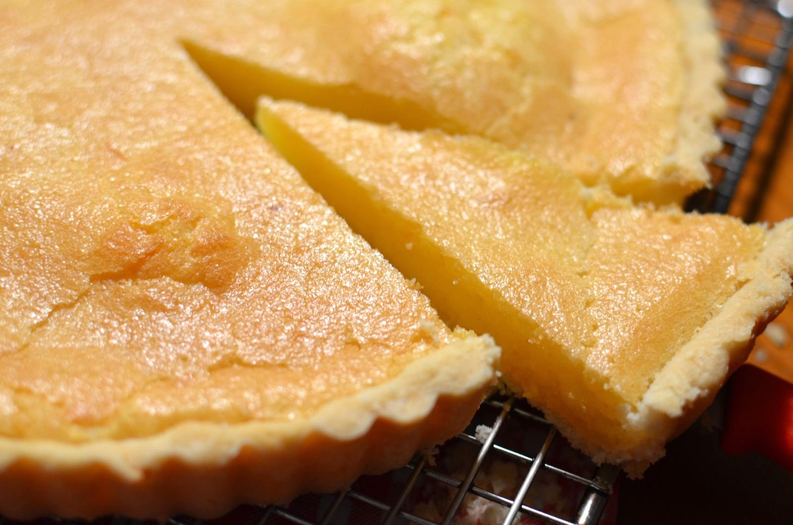 Lemon Chess Pie | Cheesy Pennies