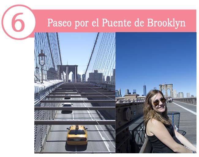 pasear Brooklyn puente bici
