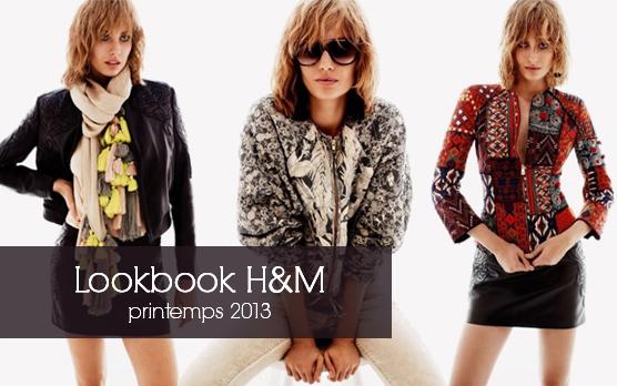 Lookbook photos et vidéo H&M collection printemps 2013