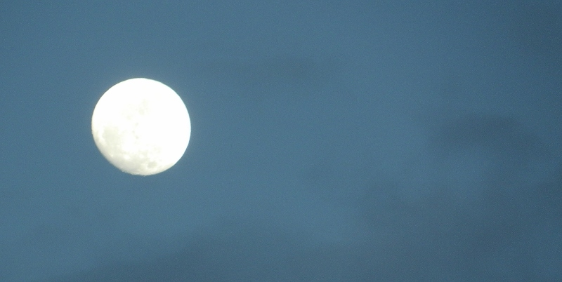 pleine lune, Vergons, Alpes de Haute Provence