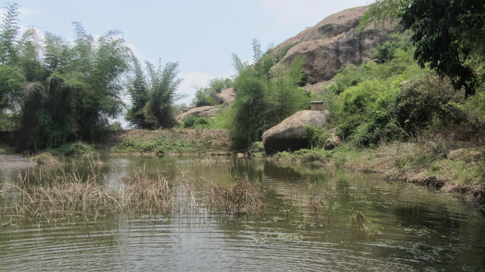 The travel reminiscenes maribetta trekking for Small pond base
