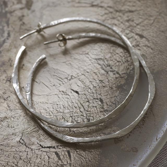Silver Hood Jewelry Earrings
