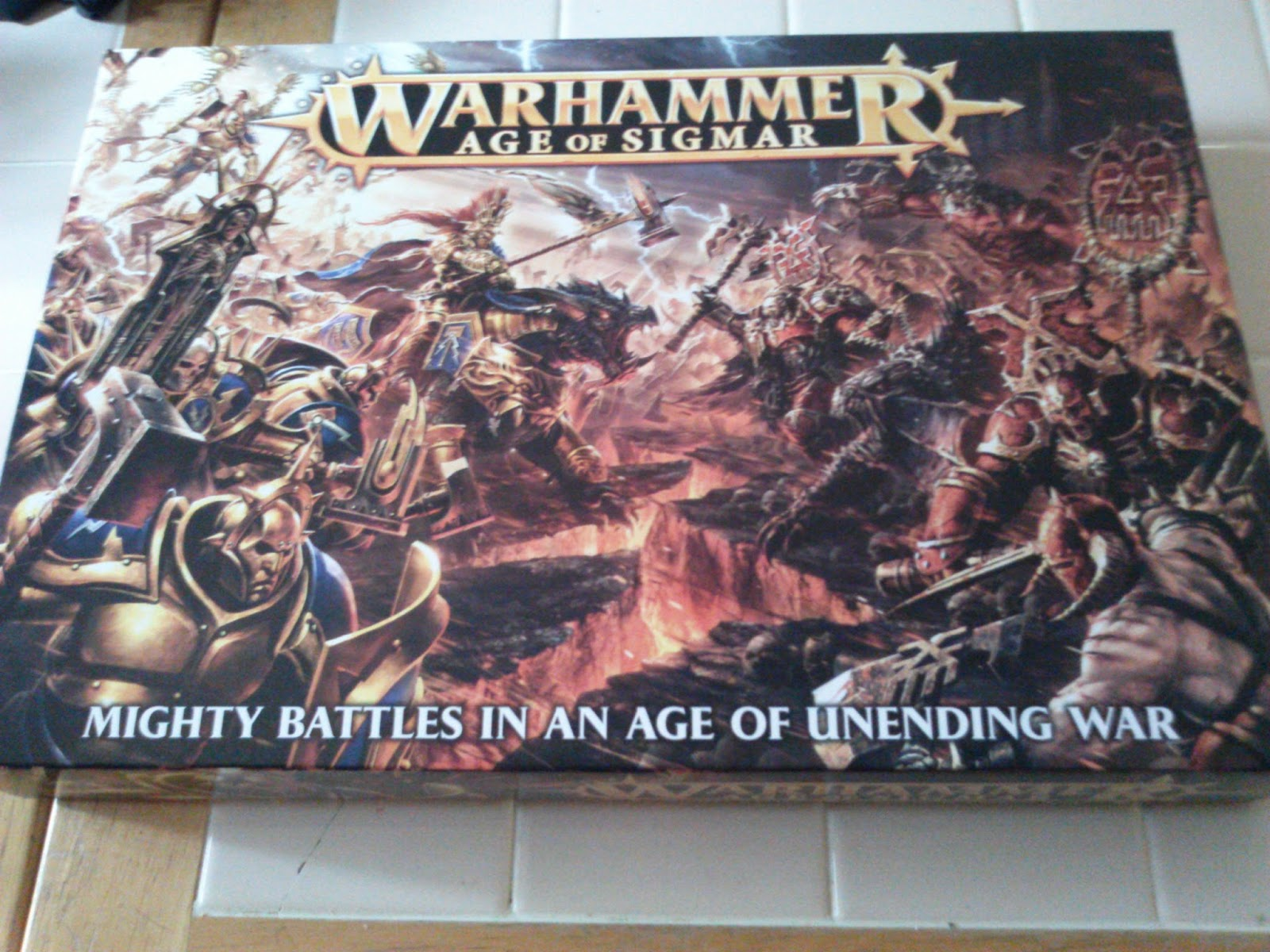 warhammer age of sigmar starter set assembly instructions