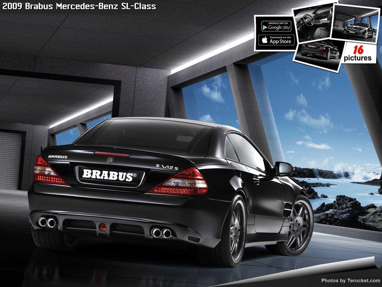 Hình ảnh xe ô tô Brabus Mercedes-Benz SL-Class 2009 & nội ngoại thất