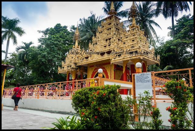 Kuil di Dhammikarama Burmese Temple Penang