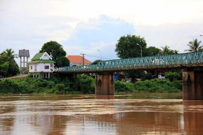 Die Französisch -Brücke Pakse - Laos