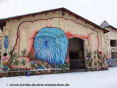 RAW, berlin, streetart, graffiti, revaler, fridrichshain, kunst, alaniz, ants