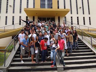 Jovens Missionários da Diocese de Guanhães/MG em formação