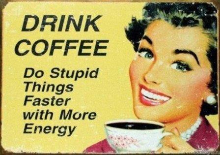 Женщины! Лучший способ борьбы с морщинами - отказ от кофеина хотя бы после 16 часов! Дешевле способа не найти!