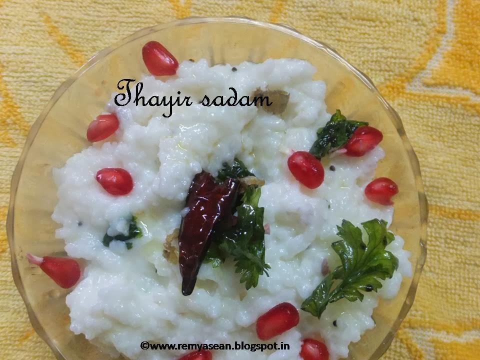 Thayir sadam/curd rice