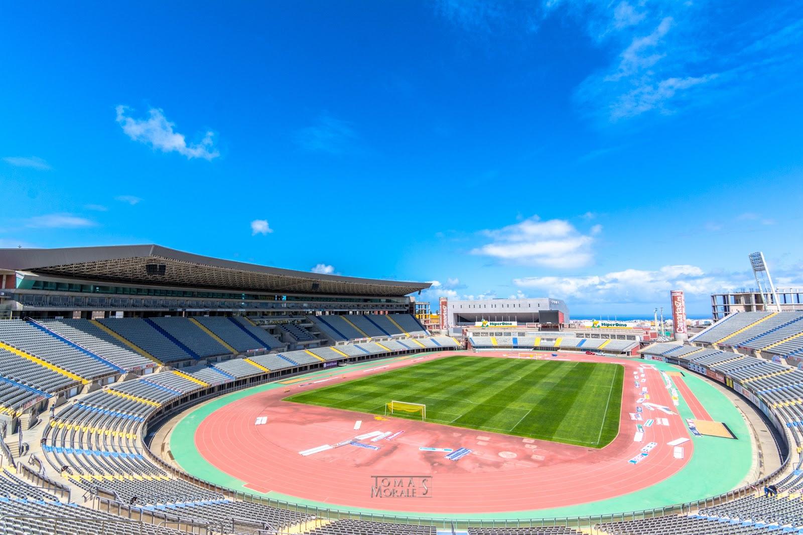 Estadio de gran canaria y gran canaria arena for Estadio arena