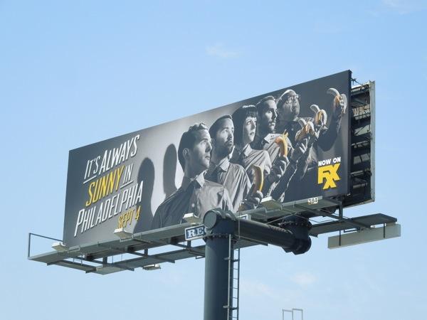 Its Always Sunny in Philadelphia season 9 billboard
