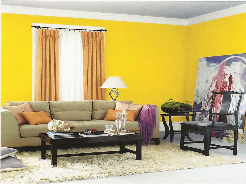 93+ Yellow Accent Wall Dining Room - Yellow Accent Wall A Painted ...