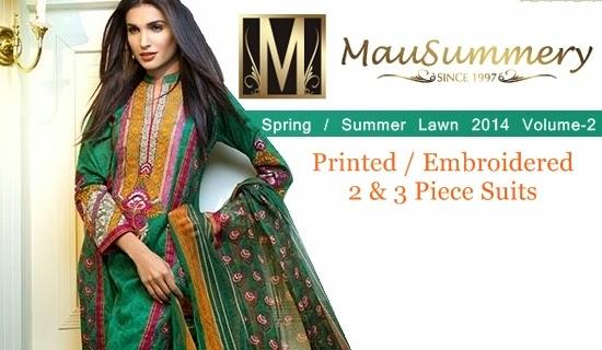 Mausummery Lawn 2014 Volume-2
