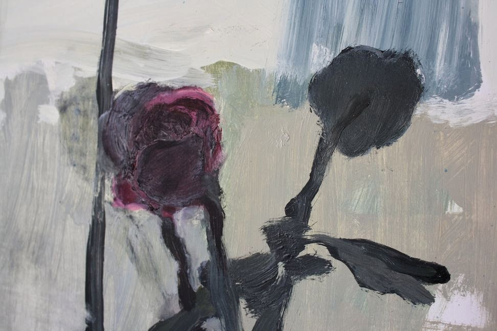 """Violets in November, 2013"" by Aubrey Levinthal via Meet Me in Philadelphia"