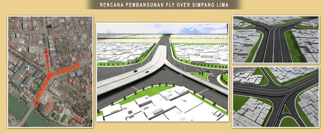 Rencana Pembangunan FlyOver Simpang Lima Banda Aceh