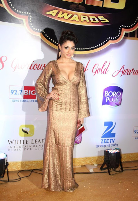 Reyhna Malhotra Ultimate Show At The 8th ZEE TV Gold Awards 2015 in Filmistan, Mumbai