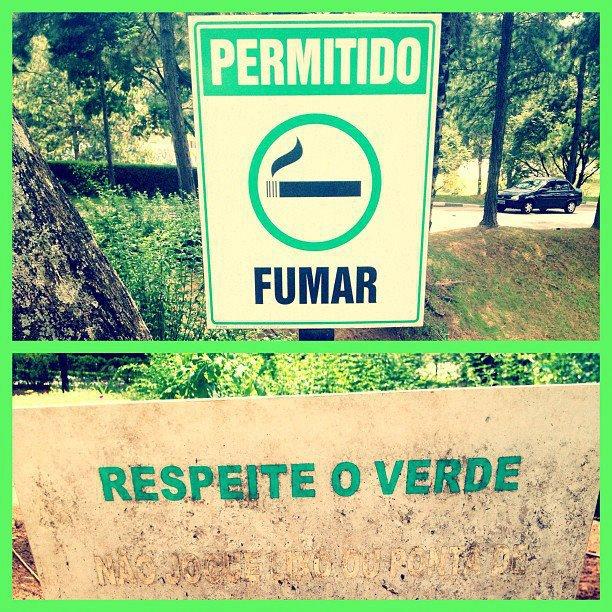 Fume só Verde