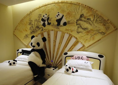 Hotel Panda pertama di dunia