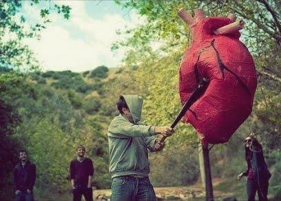 El corazón no es como una piñata