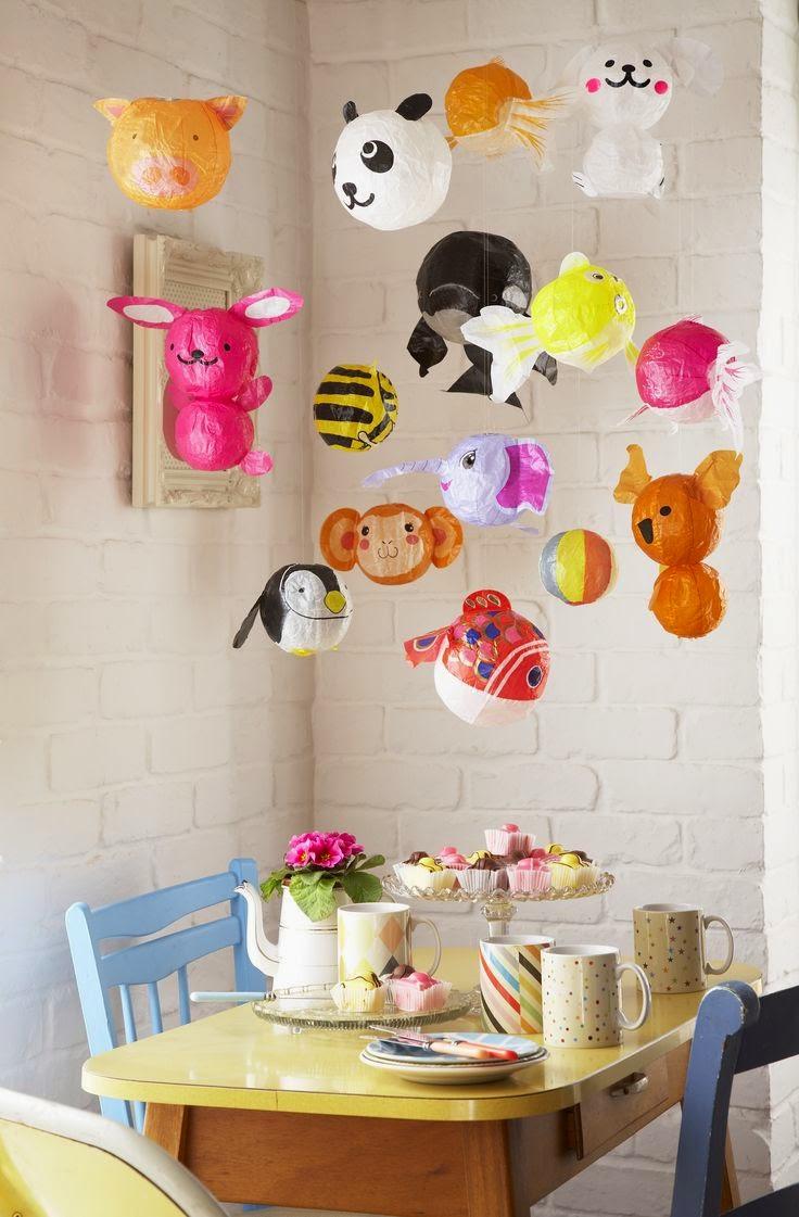 festa-infantil-decoracao-baloes-animais