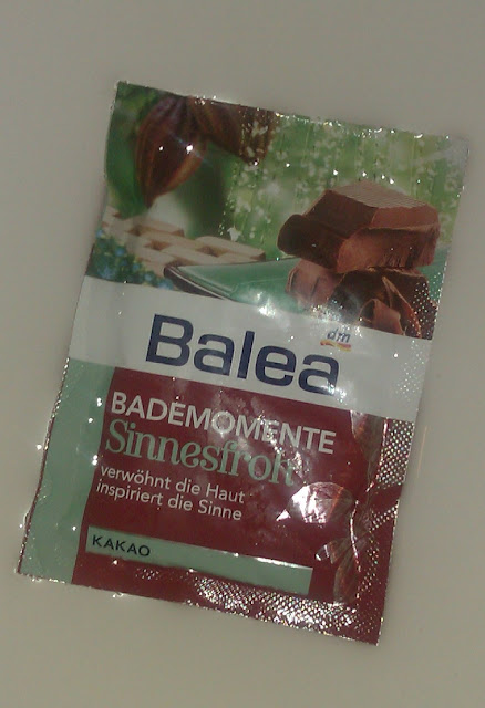 Soľ do kúpeľa Balea Kakao