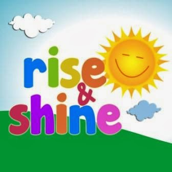 Rise and Shine Guest Mommy Blogger  March 10, 17 and 24. April 7 and 16, 2014