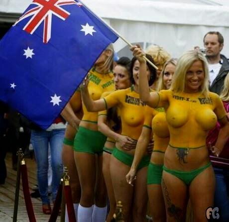 Australia eliminated