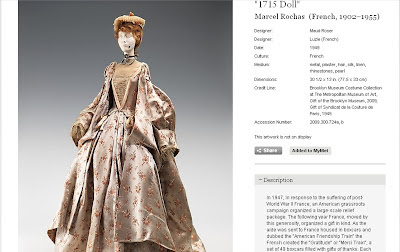 French Fashion Dolls on Of The Way French Fashion Has Changed Through The Ages