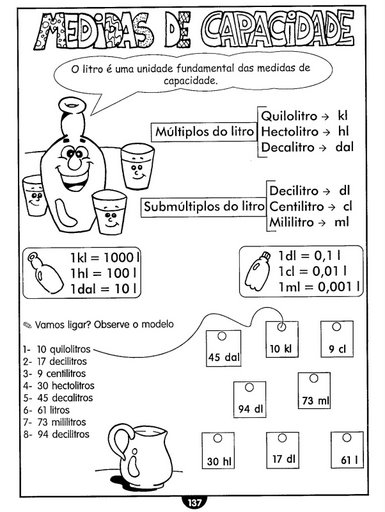 litro medidas: