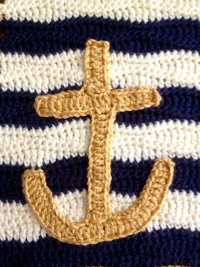 Illuminate Crochet: Nautical Baby Blanket