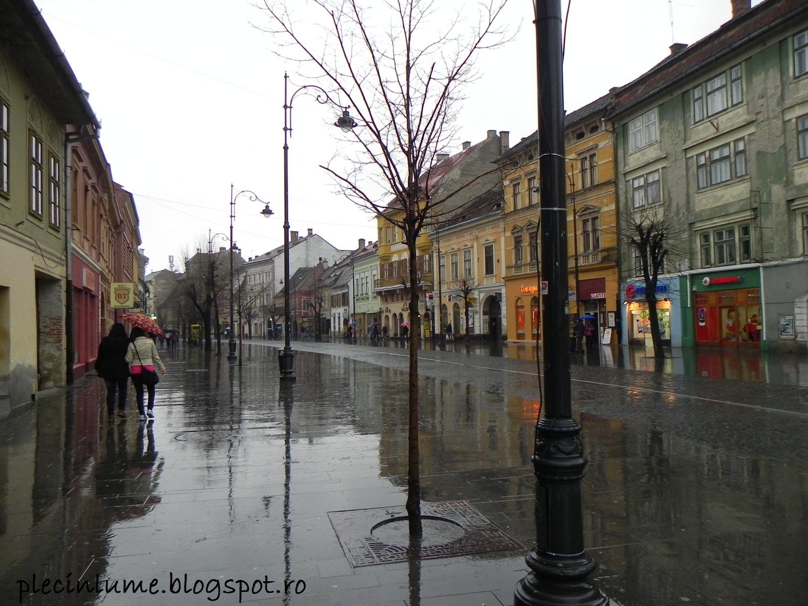 Strada pietonala din Sibiu
