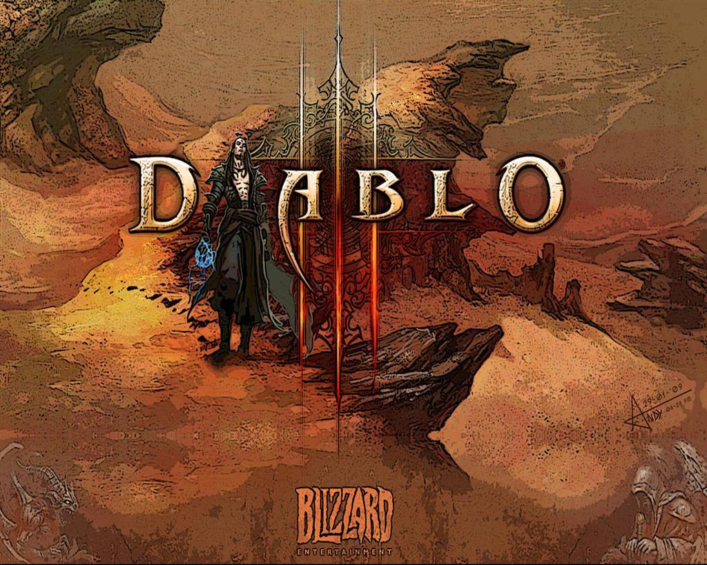 Diablo HD & Widescreen Wallpaper 0.6803486654039
