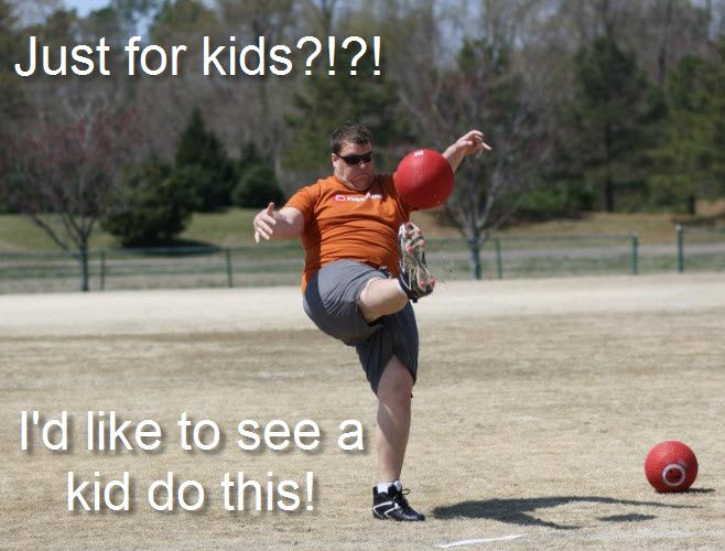 Funny Kickball Meme : Why is golf guy more respected than softball page