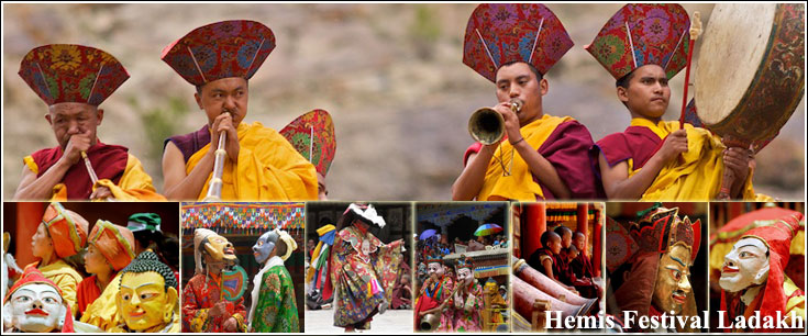 HEMIS FESTIVAL (ALL PICTURES ARE VIDEOS)
